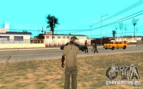Охрана для Сиджея для GTA San Andreas