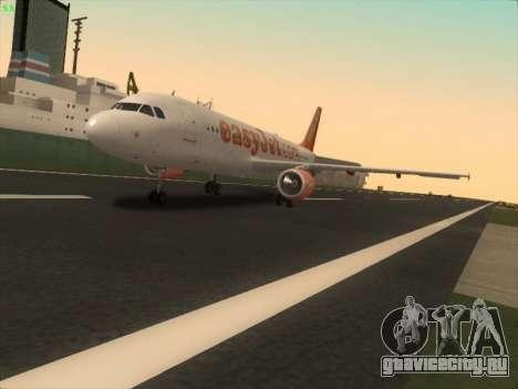 Airbus A320-214 EasyJet для GTA San Andreas
