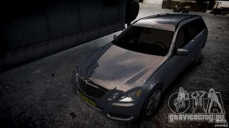 Mercedes E-Class универсал для GTA 4 вид сзади