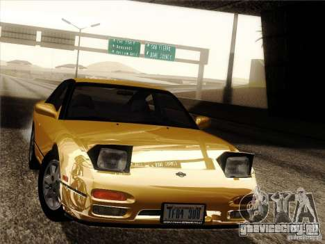 Nissan 240SX S13 - Stock для GTA San Andreas колёса