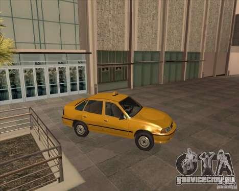 Daewoo Nexia Taxi для GTA San Andreas вид сзади слева