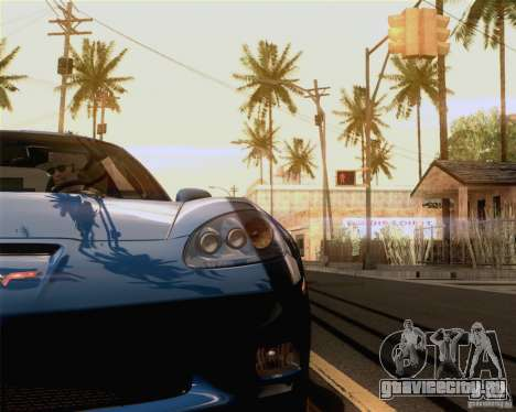 Optix ENBSeries Anamorphic Flare Edition для GTA San Andreas второй скриншот