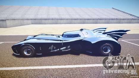 Batmobile v1.0 для GTA 4 вид сзади слева