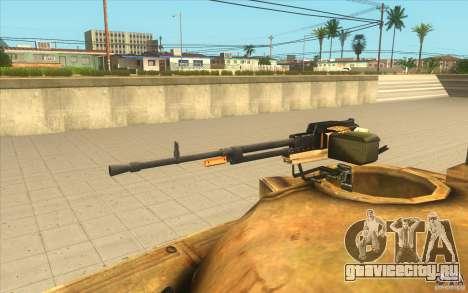 Танк Т-72 для GTA San Andreas вид справа