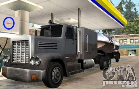 Packer Truck для GTA San Andreas вид сзади слева