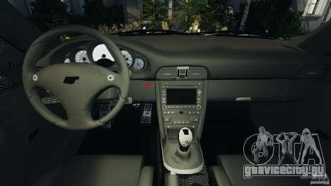 RUF RT12R 2011 для GTA 4 вид сзади