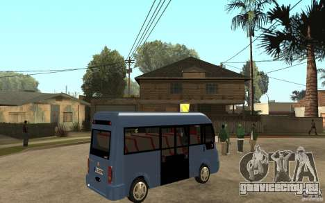 Karsan J10 для GTA San Andreas вид справа