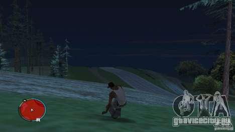 GTA IV HUD для широких экранов (16:9) для GTA San Andreas третий скриншот