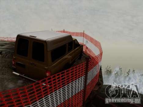 УАЗ 2760 для GTA San Andreas вид сбоку