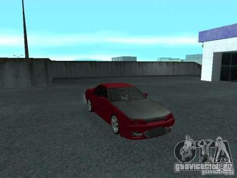 Nissan Skyline R32 Classic Drift для GTA San Andreas вид изнутри