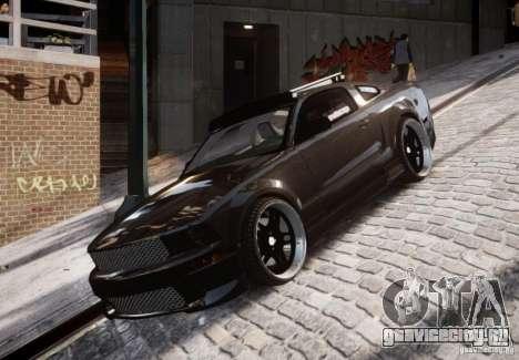 Ford Mustang GT Lowlife для GTA 4