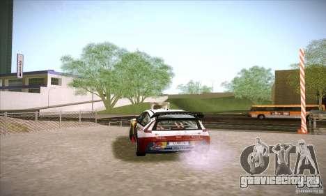 Citroen C4 WRC для GTA San Andreas вид справа