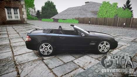 Mercedes Benz SL65 AMG для GTA 4 вид слева
