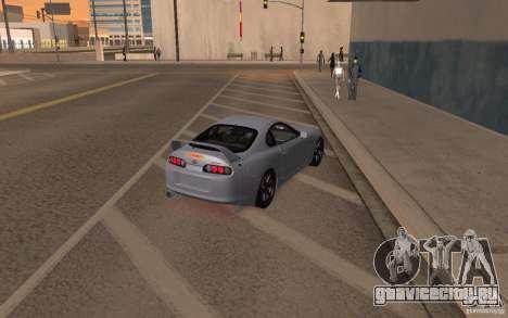 Toyota Supra Mark IV для GTA San Andreas вид слева