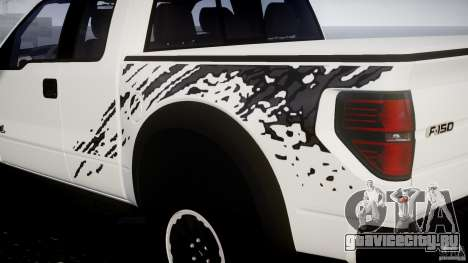 Ford F150 SVT Raptor 2011 для GTA 4