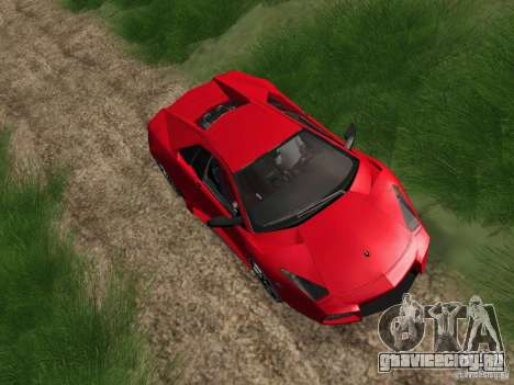 Lamborghini Reventоn для GTA San Andreas вид справа