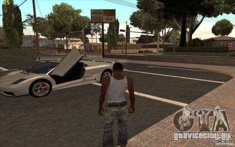 Infernus из GTA 4 для GTA San Andreas вид слева
