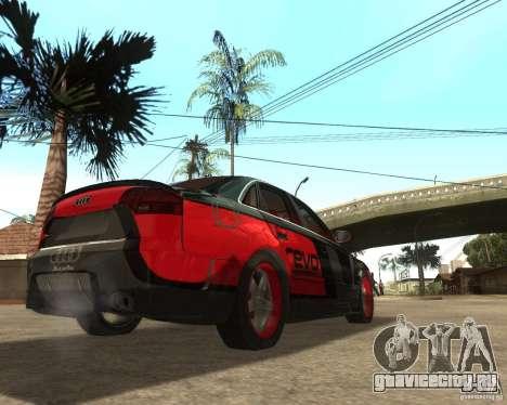 Audi RS4 Grip для GTA San Andreas вид справа