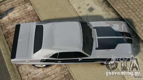Dodge Challenger RT 1970 v2.0 для GTA 4 вид справа