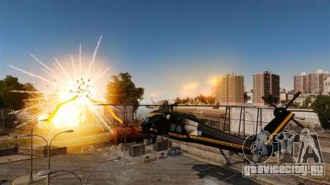 Вертолёт с RPG для GTA 4 вид слева