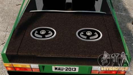 Volkswagen Gol GL 1992 Edit для GTA 4 вид сбоку