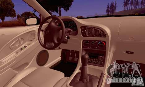 Eagle Talon TSi AWD 1998 для GTA San Andreas вид сбоку