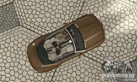 Chevrolet Camaro Concept 2007 для GTA San Andreas вид сзади