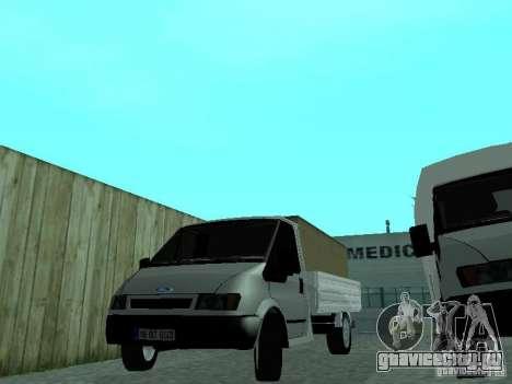 Ford Transit 2005 для GTA San Andreas вид сзади слева