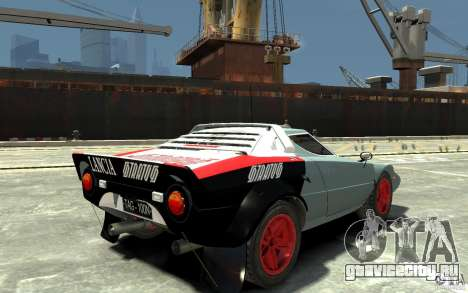 Lancia Stratos для GTA 4 вид справа