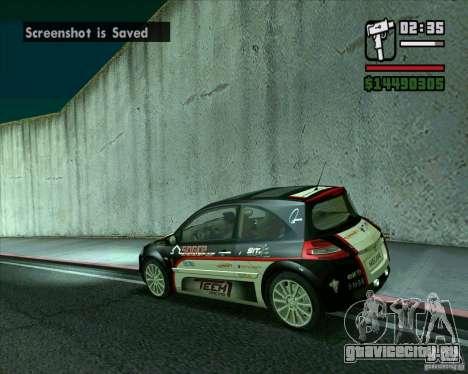 Renault Megane II RS для GTA San Andreas вид слева