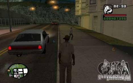 Кидаться в прохожих мусором для GTA San Andreas третий скриншот