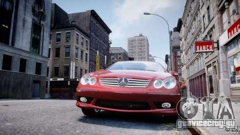 Mercedes-Benz CLK 63 AMG 2005 для GTA 4 салон