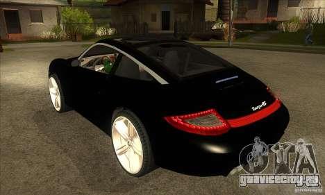 Porsche 911 Targa 4 для GTA San Andreas вид сзади слева