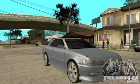 TOYOTA MARK II GT для GTA San Andreas вид сзади
