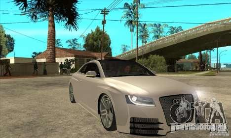 Audi S5 Quattro Tuning для GTA San Andreas вид сзади