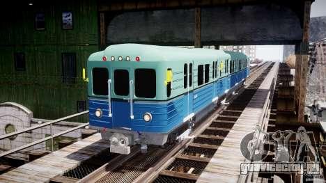 Русское метро для GTA 4