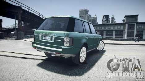 Range Rover Supercharged v1.0 для GTA 4 вид снизу