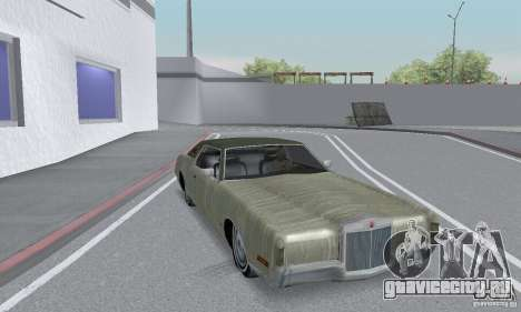 Lincoln Continental Mark IV 1972 для GTA San Andreas вид сверху