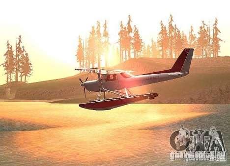 Cessna 152 водный вариант для GTA San Andreas вид слева