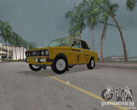 Ваз 2106 Такси для GTA Vice City