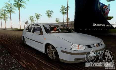 Volkswagen Golf 4 1.6 для GTA San Andreas вид справа