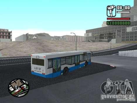 Маз 103 для GTA San Andreas вид справа