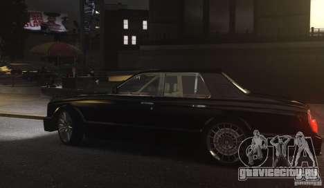 Bentley Arnage T v 2.0 для GTA 4 вид сзади