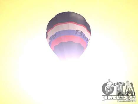 Воздушный шар Витязь для GTA San Andreas вид сзади