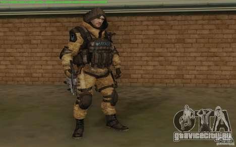 Снайпер из Warface для GTA San Andreas