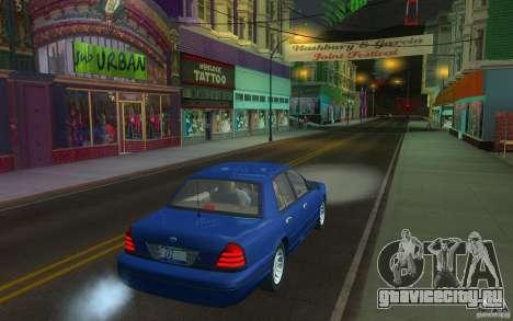 Ford Crown Victoria для GTA San Andreas вид справа