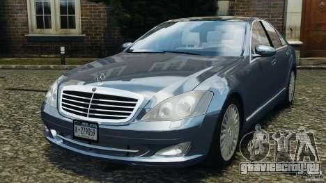 Mercedes-Benz W221 S500 2006 для GTA 4