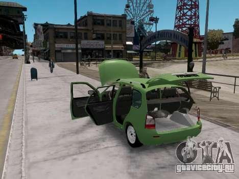 Лада 1117 Калина Универсал для GTA 4 вид справа