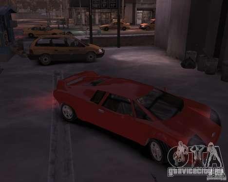 Infernus - Vice City для GTA 4 вид сзади