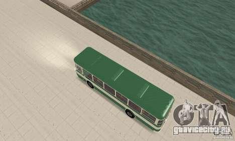 ЛиАЗ 677 v.1.1 для GTA San Andreas вид сзади слева